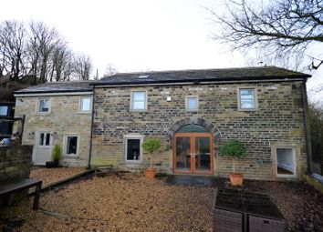 Thumbnail 4 bed detached house for sale in Holly Barn, Pike End Road, Rishworth