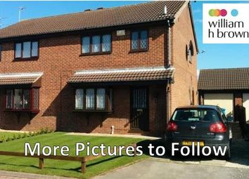 Thumbnail 3 bed semi-detached house to rent in Lawsons Close, Hull