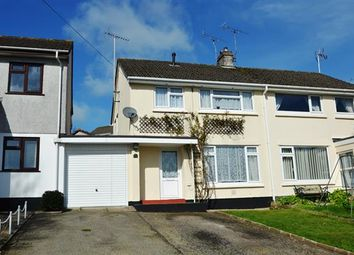 Thumbnail 3 bed semi-detached house for sale in Boslowick Road, Falmouth