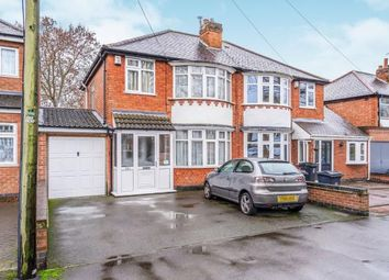 Thumbnail 3 bed semi-detached house for sale in Welford Road, Knighton, Leicester, Leicestershire
