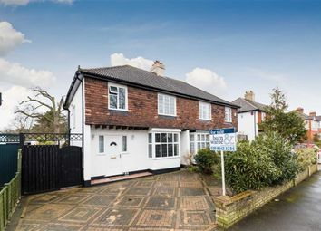 Thumbnail 3 bed semi-detached house for sale in Wrayfield Road, North Cheam, Sutton