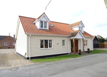 Thumbnail 4 bed detached bungalow for sale in Mill Road, Battisford, Stowmarket