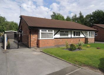 Thumbnail 3 bed semi-detached bungalow for sale in Old Oak Drive, Denton, Manchester