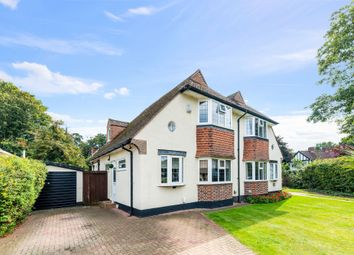 Thumbnail Semi-detached house for sale in Portway, Ewell Village