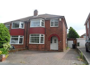 Thumbnail 3 bedroom semi-detached house to rent in Odensil Green, Solihull