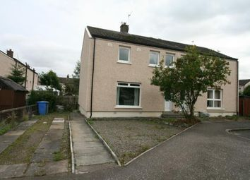 Thumbnail 3 bed semi-detached house to rent in Cardean Crescent, Carstairs Junction, Lanark