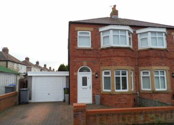 Thumbnail 2 bedroom semi-detached house to rent in Munster Avenue, Blackpool