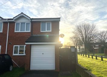 Thumbnail 3 bed semi-detached house to rent in Burnt Tree, Tipton