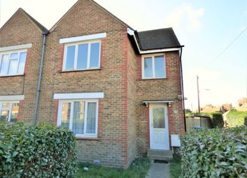 Thumbnail 3 bed end terrace house to rent in Hill Road, Littlehampton