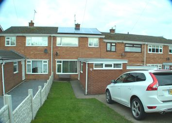 Thumbnail 3 bed terraced house for sale in St. Davids Drive, Connah's Quay, Deeside