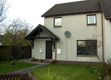 Thumbnail 3 bed semi-detached house for sale in Craigellachie Crescent, Aviemore