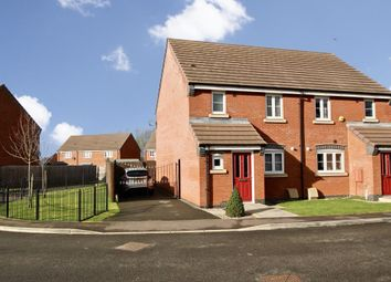 Thumbnail 3 bed semi-detached house for sale in Juno Close, Hinckley