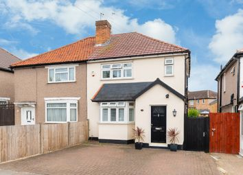 Thumbnail 3 bed semi-detached house for sale in Russell Road, Northolt