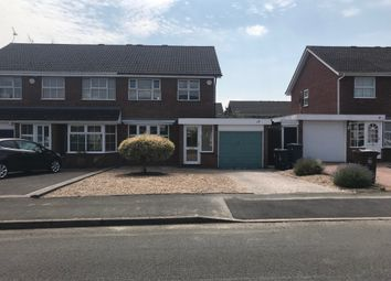 Thumbnail 3 bed semi-detached house to rent in Withybrook Road, Shirley, Solihull, West Midlands