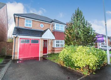Thumbnail 4 bedroom detached house for sale in Patreane Way, Michaelston Gardens