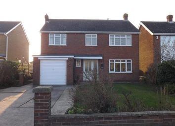 Thumbnail 4 bedroom detached house for sale in Highfield Road, North Thoresby, Grimsby