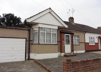 Thumbnail 2 bed bungalow for sale in Woodhall Crescent, Hornchurch, Essex