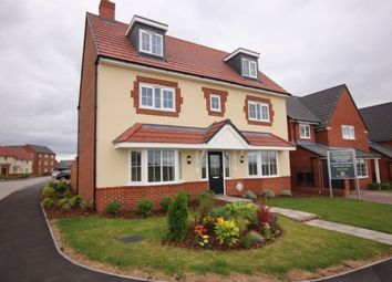 Thumbnail 5 bed detached house for sale in The Warwick, Marsh Lane, Nantwich