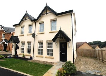 Thumbnail 2 bed semi-detached house for sale in River Hill Close, Newtownards