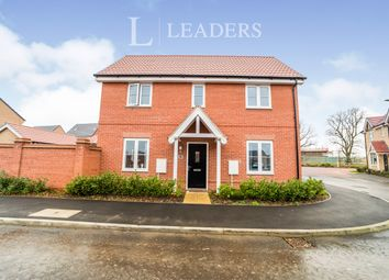 Thumbnail 3 bedroom detached house to rent in Myrtlewood Road, Bury St. Edmunds