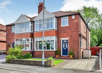 Saddlewood Avenue, Didsbury, Greater Manchester M19. 3 bed semi-detached house