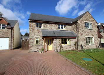 Thumbnail 3 bedroom semi-detached house to rent in Captains Field, Llanfrynach, Brecon
