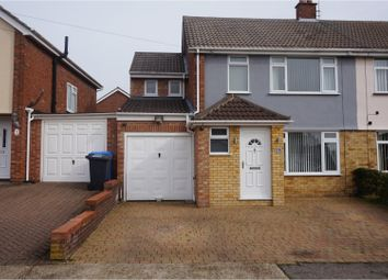 Thumbnail 4 bedroom semi-detached house for sale in Aldercroft Road, Ipswich