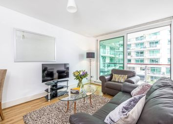 Thumbnail 1 bed flat to rent in Bridge House, St George Wharf, London