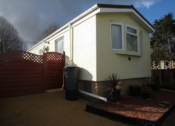 Thumbnail 2 bedroom mobile/park home for sale in Rydon Park, Rydon Lane, Exeter