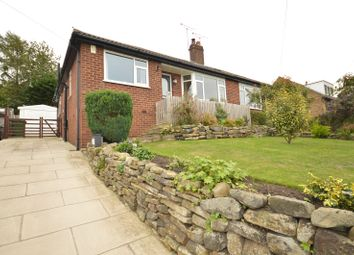 Thumbnail 2 bed semi-detached bungalow for sale in Woodhill Road, Cookridge, Leeds