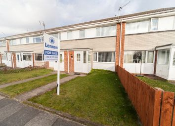 Thumbnail 3 bed terraced house for sale in Addington Drive, Blyth