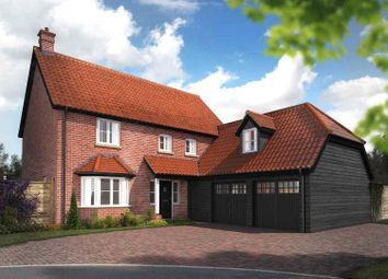 Thumbnail 5 bed detached house for sale in Woodlands, Townhouse Road, Old Costessey, Norwich