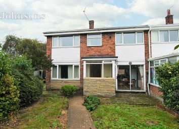Thumbnail 3 bed end terrace house for sale in Langdale Road, Carcroft, Doncaster.