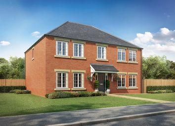 "Thumbnail 5 bed detached house for sale in ""The Holland"" at Hounsfield Way, Sutton-On-Trent, Newark"
