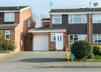 Thumbnail 4 bedroom semi-detached house for sale in Stowe Drive, Southam, Warwickshire