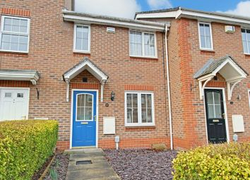 Thumbnail 2 bed terraced house for sale in Dearne Court, Brough