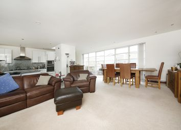 Thumbnail 3 bed flat for sale in The Watergarden, London