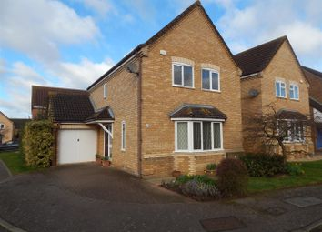 Thumbnail 3 bedroom detached house for sale in Popham Close, Eaton Socon, St. Neots
