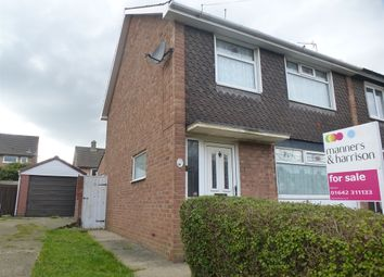 Thumbnail 3 bedroom semi-detached house for sale in Broadwell Road, Middlesbrough