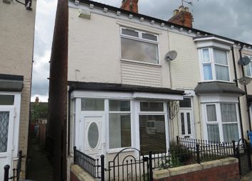 Thumbnail 2 bed end terrace house to rent in De La Pole Avenue, Hull