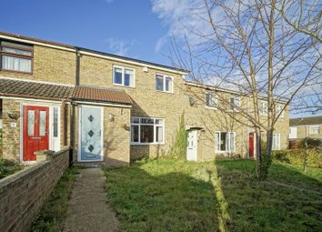 Thumbnail 3 bed terraced house for sale in Knights Close, Eaton Socon, St. Neots