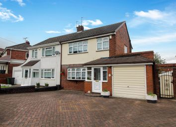 Thumbnail 3 bed semi-detached house for sale in Queens Crescent, Hurst Hill, Coseley