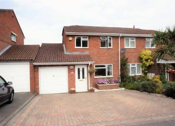 Thumbnail 4 bed semi-detached house for sale in Mathias Walk, Basingstoke
