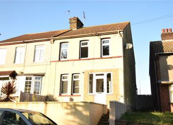 Thumbnail 3 bed semi-detached house for sale in Knockhall Road, Greenhithe, Kent