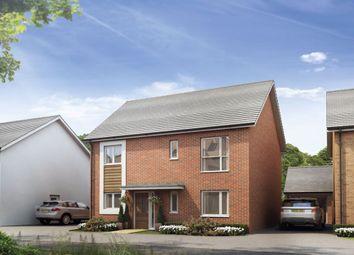 Thumbnail 4 bedroom detached house for sale in Burton Road, Castle Gresley, Swadlincote