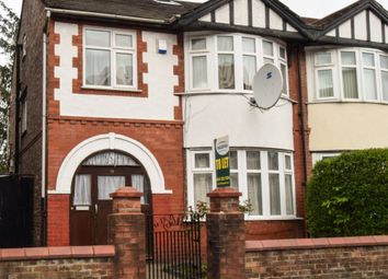 Thumbnail 4 bed semi-detached house to rent in Longford Place, Manchester