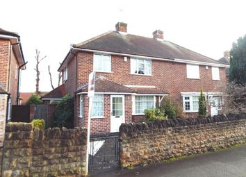 Thumbnail 3 bed semi-detached house for sale in Russell Avenue, Wollaton, Nottingham, Nottinghamshire
