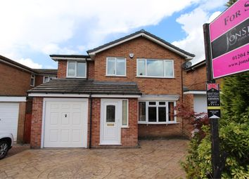 Thumbnail 4 bed detached house for sale in Hunt Fold Drive, Greenmount, Bury, Lancashire