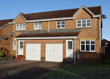 Thumbnail 3 bedroom semi-detached house for sale in Oak Wynd, Cambuslang, South Lanarkshire