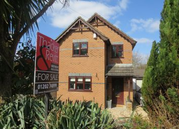 Thumbnail 3 bed detached house for sale in Wimborne Road, Bournemouth